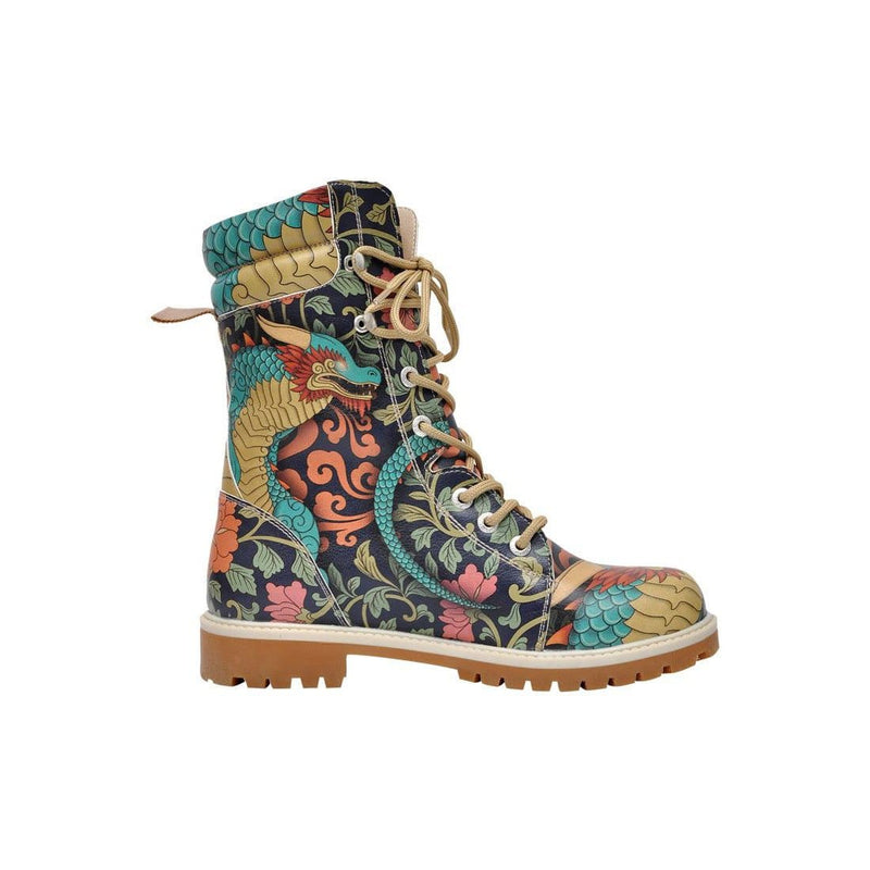 Chinese Dragon Dogo Women's High Boots image4
