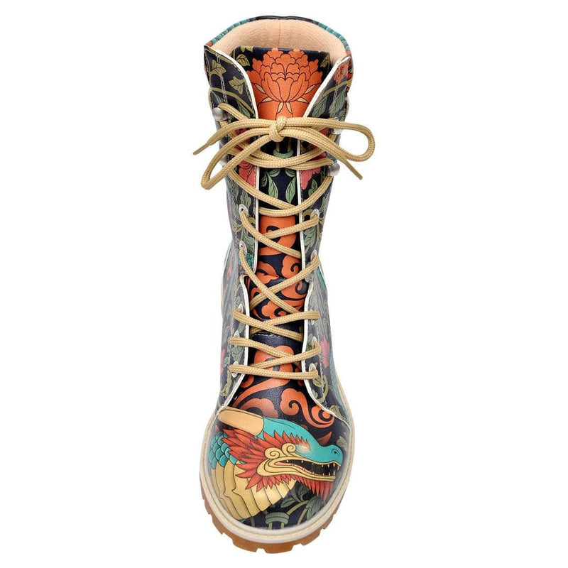 Chinese Dragon Dogo Women's High Boots image5