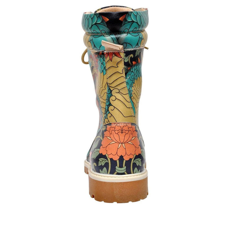Chinese Dragon Dogo Women's High Boots image6
