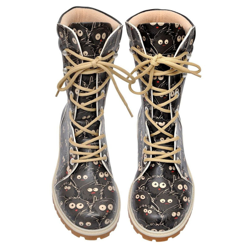 Charcoal Fellas Dogo Women's High Boots image2