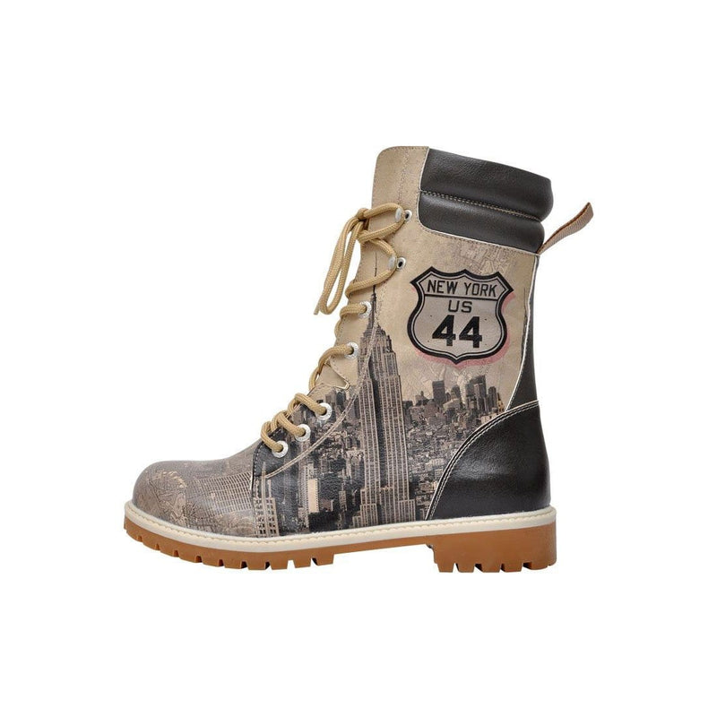 Welcome To New York Dogo Women's High Boots image3