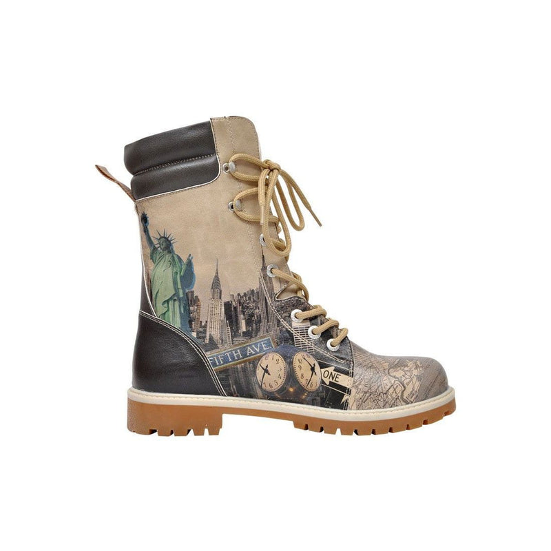 Welcome To New York Dogo Women's High Boots image4