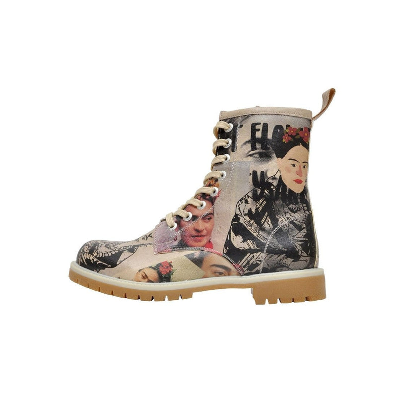 I Paint Flowers DOGO Women's Mid Calf Boot image-3