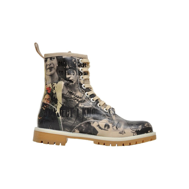 I Paint Flowers DOGO Women's Mid Calf Boot image-4