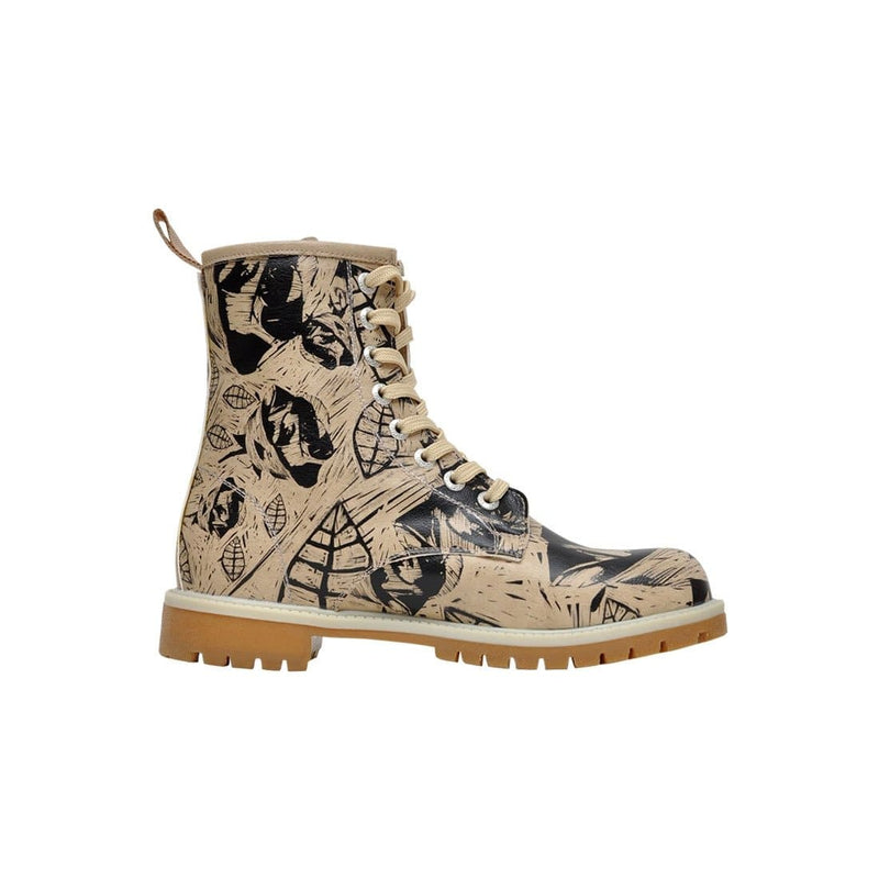 Flower Art DOGO Women's Mid Calf Boot image-4