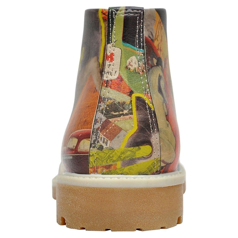 Collage Dogo Women's Short Boots image6