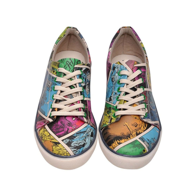 Zombie Attack DOGO Women's Sneakers image 2