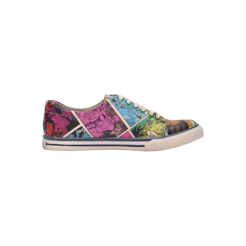 Zombie Attack DOGO Women's Sneakers image 4