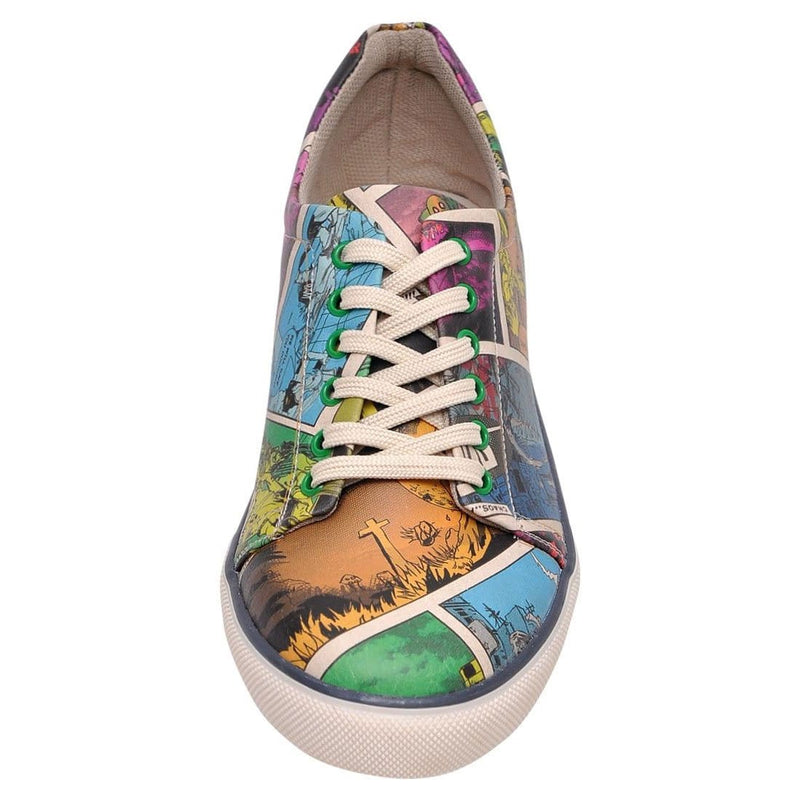 Zombie Attack DOGO Women's Sneakers image 5