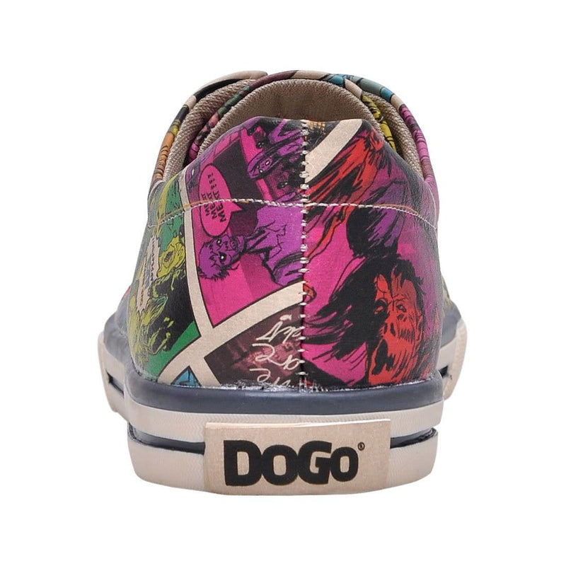 Zombie Attack DOGO Women's Sneakers image 6