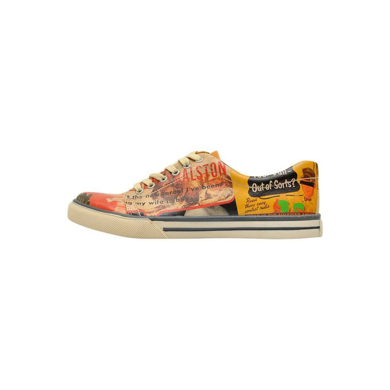 Retro Collage DOGO Women's Sneakers image 3