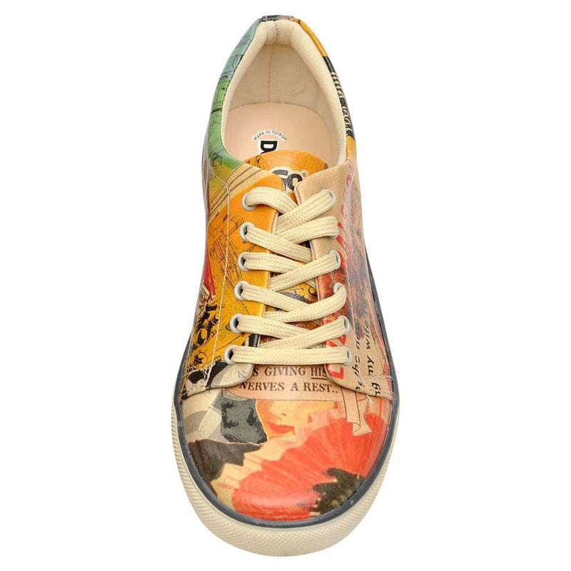 Retro Collage DOGO Women's Sneakers image 5