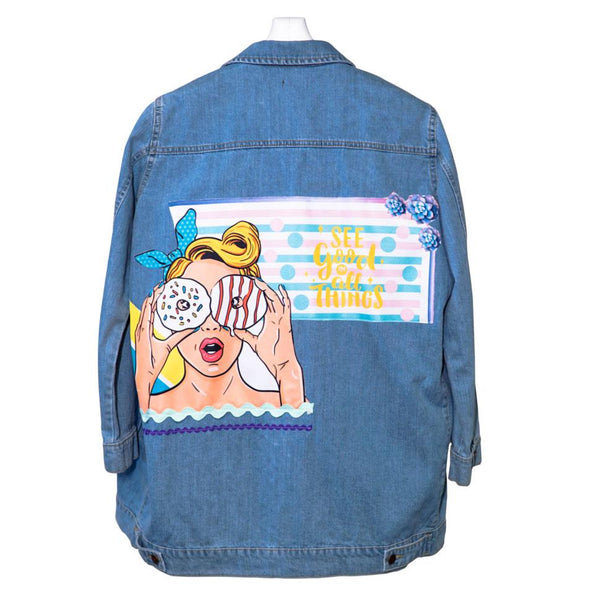 See Good Women Denim Jacket
