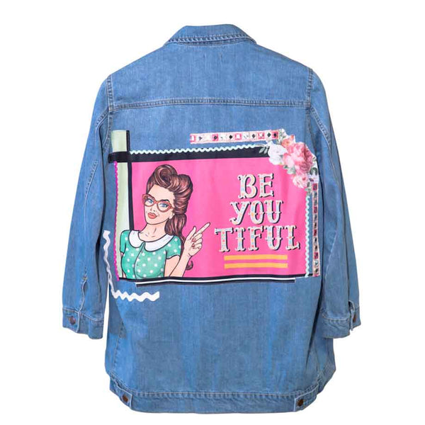 Beyoutiful Women Denim Jacket