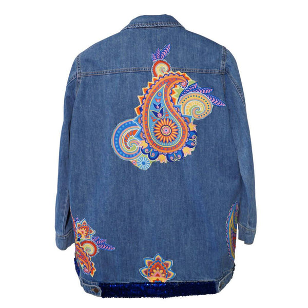Paisley Women Denim Jacket