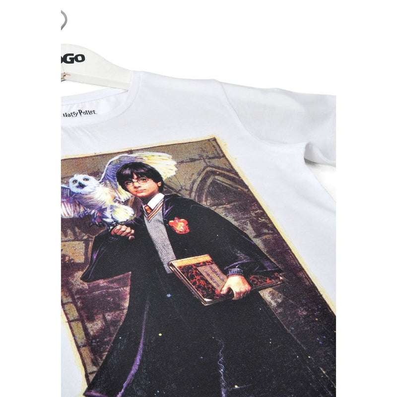 Harry & Hedwig - Harry Potter Kids T-Shirt image 1