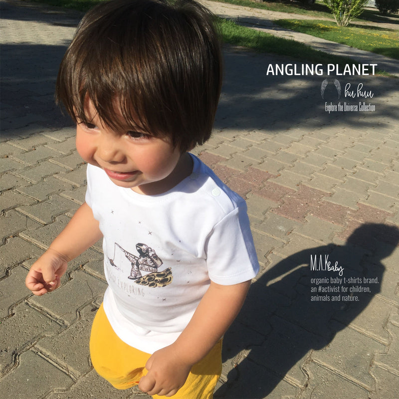 PLANET ANGLING Organic Aegean Cotton Unisex Baby T-shirt