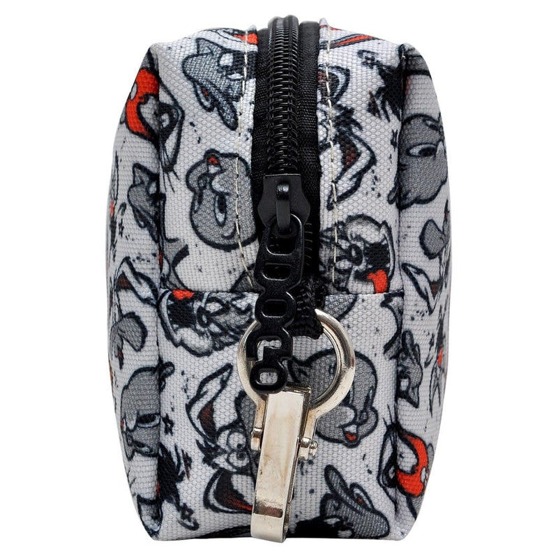 All in Grey Looney DOGO Stationery Pouch Bag image 3