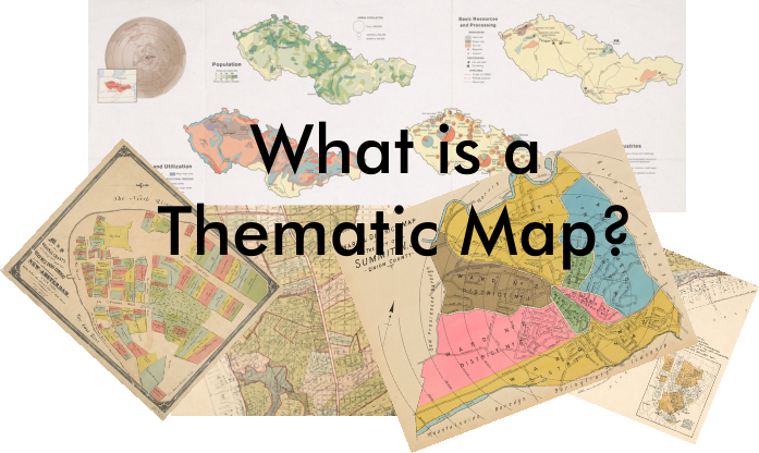 What is a thematic map?