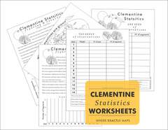 Link to Clementine Statistics Worksheets