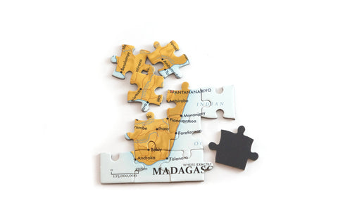 Madagascar magnetic map puzzle Where Exactly Maps