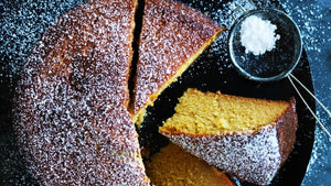 Portuguese Orange, Olive Oil and Honey Cake