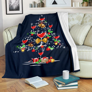 Christmas Tree Wine Blanket - KA1110191NH