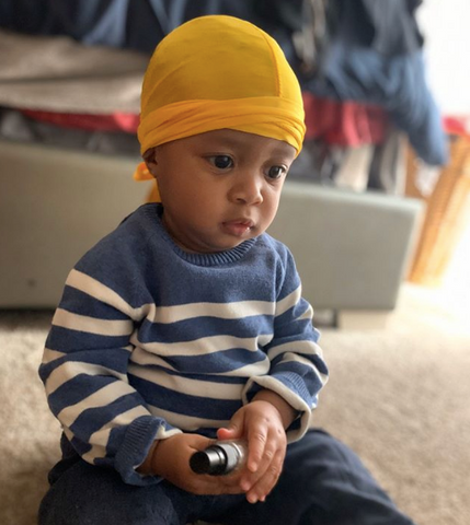 Baby Durag SIlk - The Rags Culture