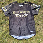 Game-Worn GreyWolves Black Jersey