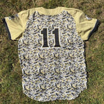 Game-Worn GreyWolves Camo-Eyes Jersey
