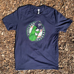 Navy T-Shirt with Pickles Badge Logo