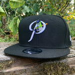 New Era 9FIFTY Alt P Black Snapback