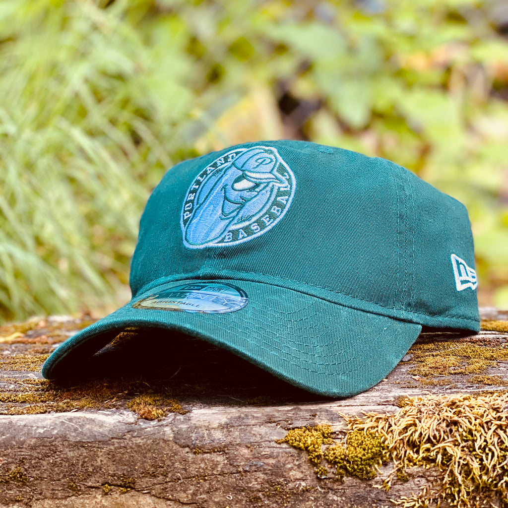 New Era 9TWENTY Green Badge Dad Hat