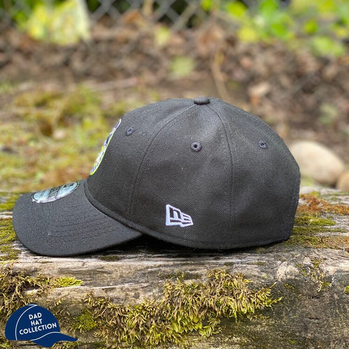 New Era 9TWENTY Black Badge Dad Hat