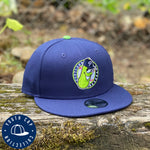 New Era 9FIFTY Youth Blue Badge Snapback