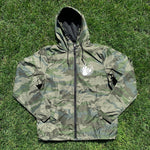 Camo Windbreaker with Dillon Badge Logo