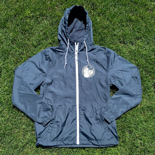 Blue Windbreaker with Dillon Badge Logo