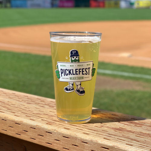 Plastic Picklefest Pint