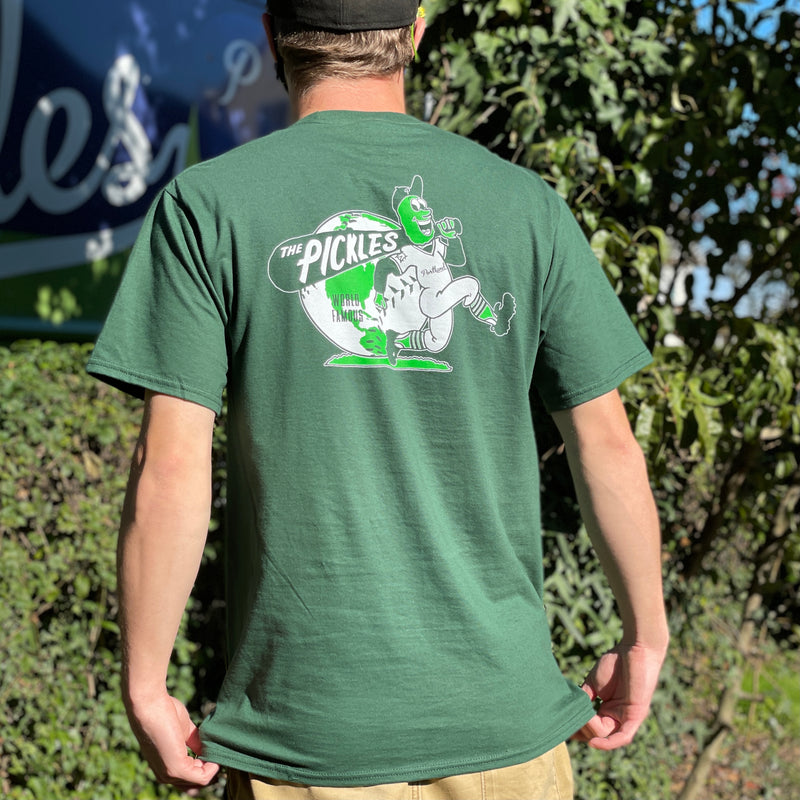 The 'World Famous' Collection! Green T-Shirt