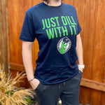 Just Dill With It Navy T-Shirt