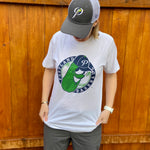 Pickles Two-Tone Badge White T-Shirt