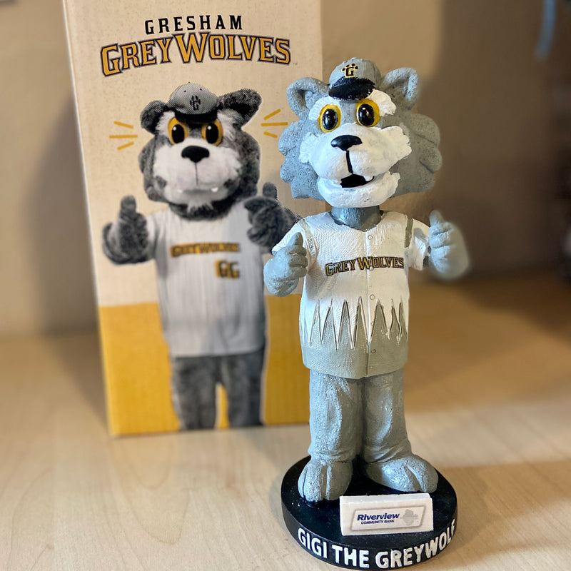 GiGi the GreyWolf Bobblehead