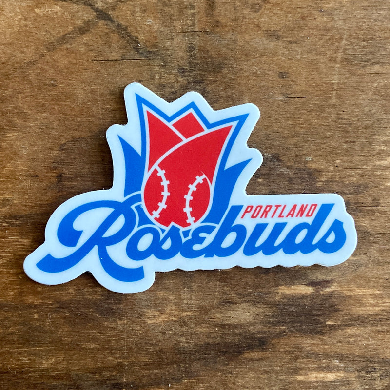 Portland Rosebuds Die Cut Sticker
