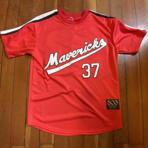 Game-Worn Portland Pickles 'Mavericks Tribute' Jersey