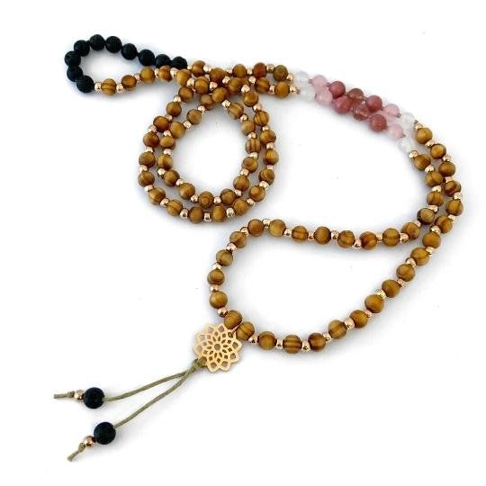 Kaya Jewellery Mini Mala Necklace - Tenderness