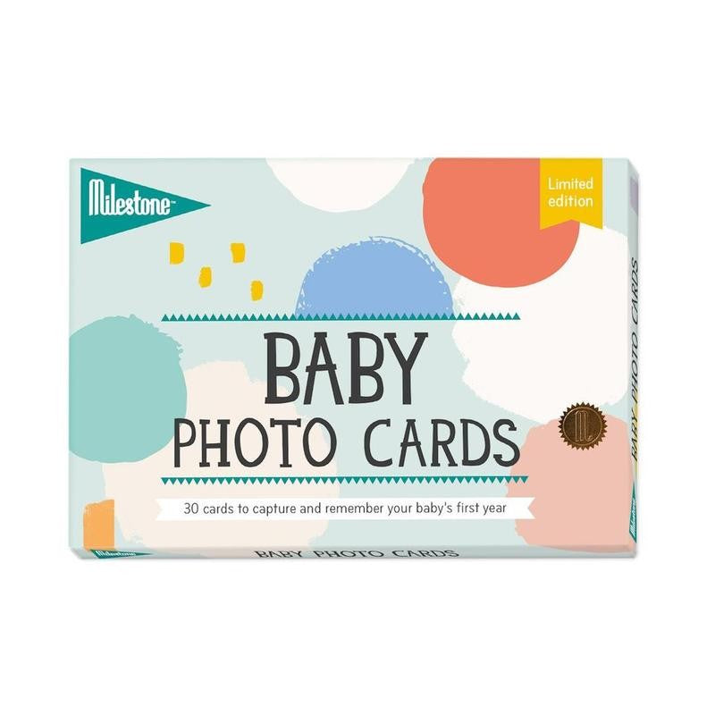 Milestone Cotton Candy Baby Photo Cards