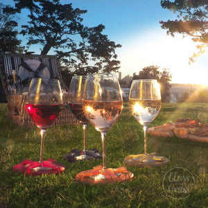 Glass On The Grass - Wine Lovers