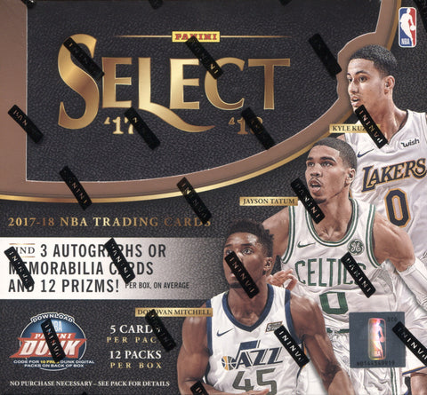 2017-18 Panini Select Hobby Basketball, Box