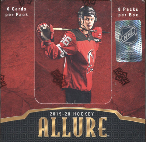 2019-20 Upper Deck Allure Hobby Hockey, Box