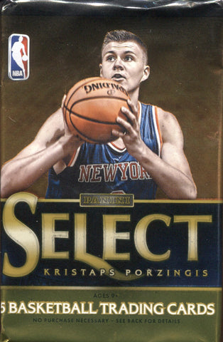 2015-16 Panini Select Hobby Basketball, Pack